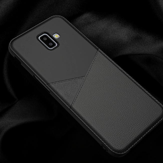 قاب ژله ای طرح چرم Samsung Galaxy J6 Plus 2018