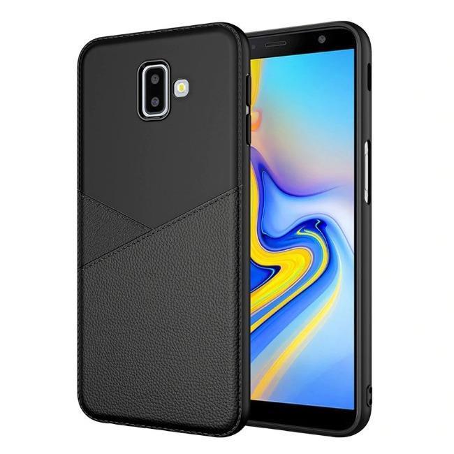 قاب ژله ای طرح چرم Samsung Galaxy J8 2018