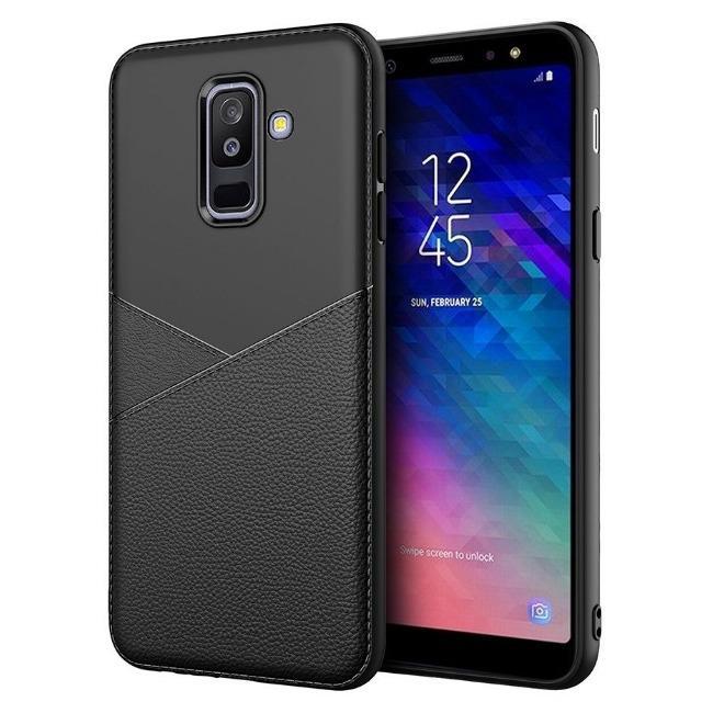 قاب ژله ای طرح چرم Samsung Galaxy A6 2018