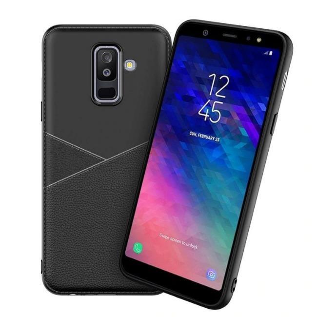 قاب ژله ای طرح چرم Samsung Galaxy A6 Plus 2018
