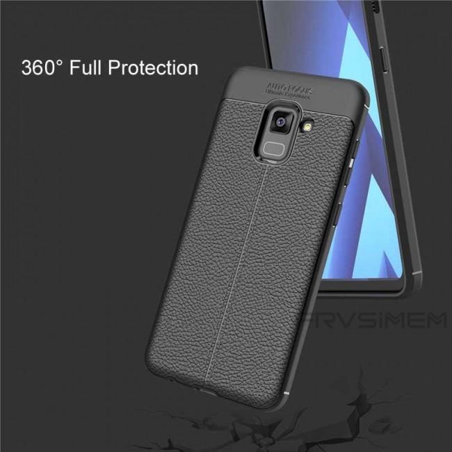 قاب ژله ای Auto Focus Case Samsung Galaxy A8 Plus 2018