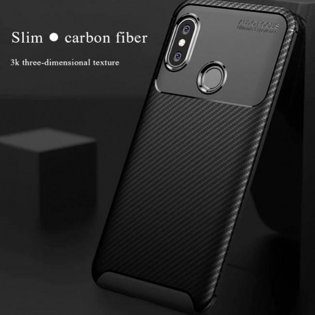 قاب ژله ای طرح کربن شیائومی Autofocus Carbon Case Xiaomi Redmi Note 5 Pro