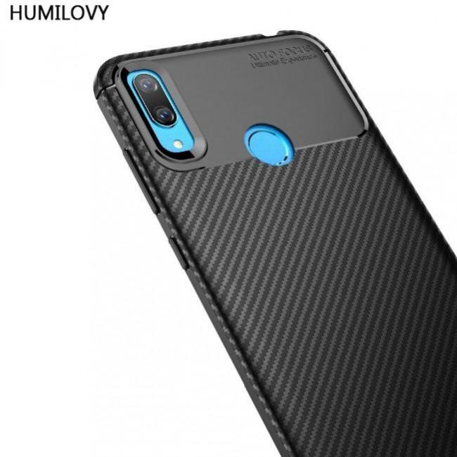 قاب ژله ای طرح کربن هواوی Autofocus Carbon Case Huawei Y7 Prime 2019