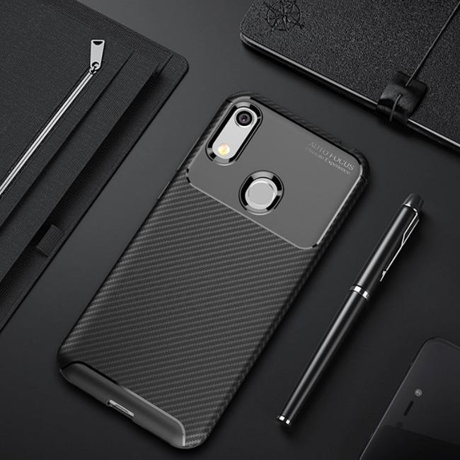 قاب ژله ای طرح کربن هواوی Autofocus Carbon Case Huawei Honor 8A
