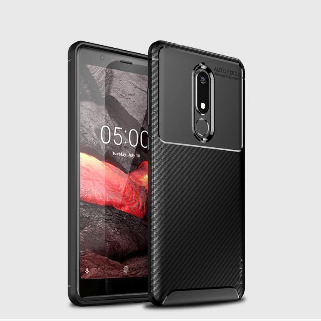 قاب ژله ای طرح کربن نوکیا Autofocus Carbon Case Nokia 5
