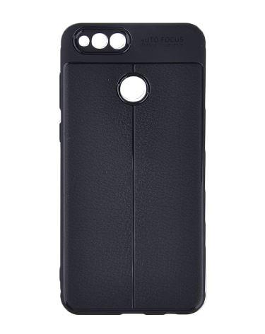 قاب ژله ای طرح چرم Auto Focus Case Huawei Honor 7x