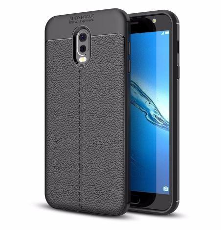 قاب ژله ای طرح چرم Auto Focus Case Samsung Galaxy C8
