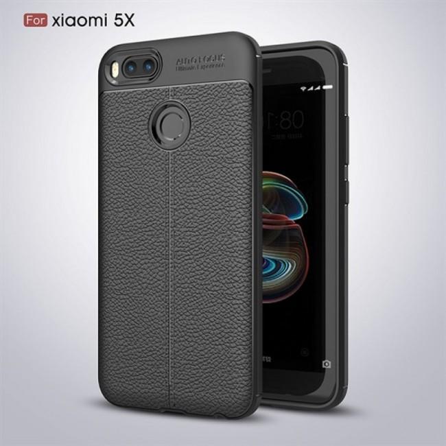 قاب ژله ای طرح چرم Auto Focus Case Xiaomi Mi 5x-A1