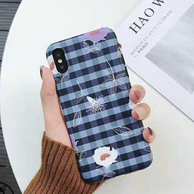 قاب ژله ای گل دار آیفون TPU Flower Case Apple iPhone Xr