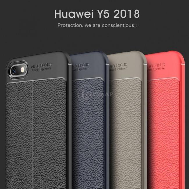 قاب ژله ای طرح چرم هواوی Auto Focus Case Huawei Y5 Lite 2018