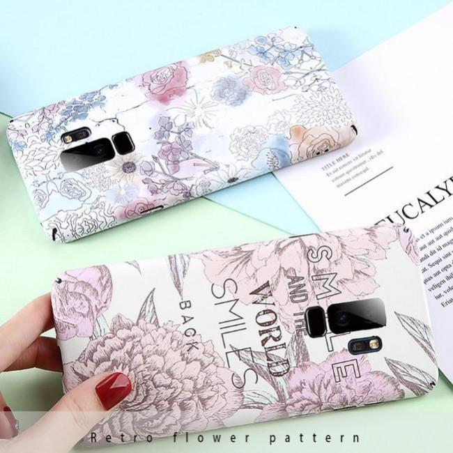 قاب ژله ای طرح گل سامسونگ Flower TPU Case Samsung Galaxy S9