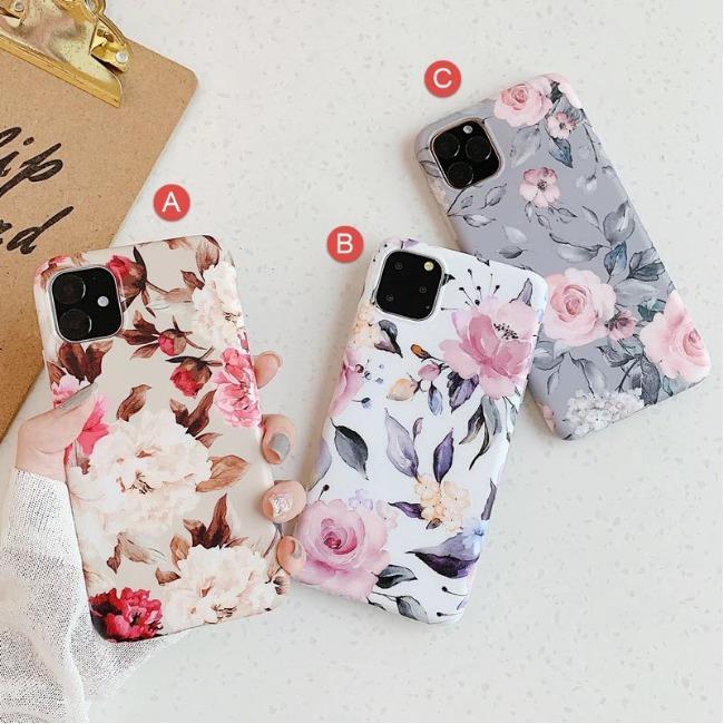قاب ژله ای گل دار آیفون Flower TPU Case Apple iPhone 11 Pro