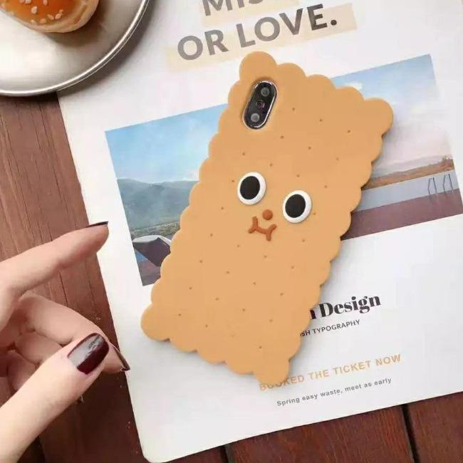 قاب ژله ای طرح بیسکویت آیفون Biscuit Case Apple iPhone 7 Plus