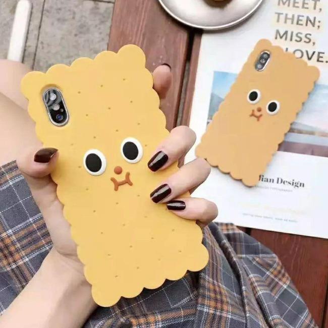 قاب ژله ای طرح بیسکویت آیفون Biscuit Case Apple iPhone 11 Pro Max