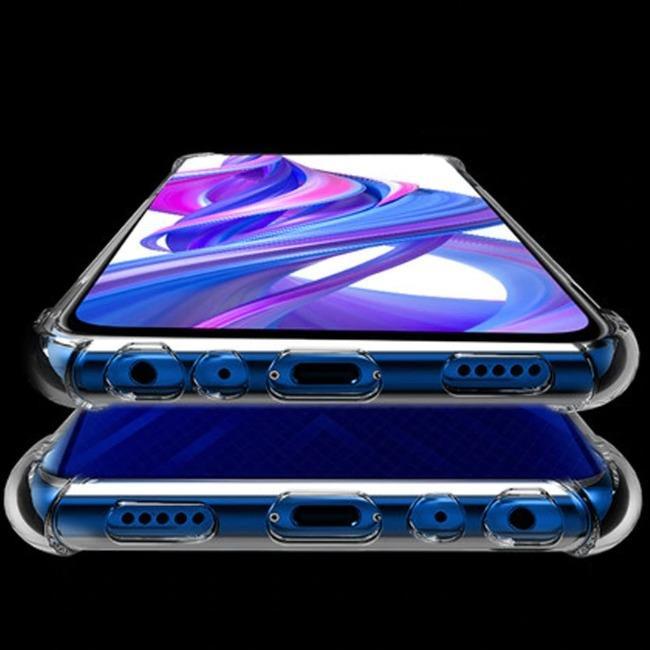قاب ژله ای شفاف ضدضربه هواوی Shockproof Case for Huawei P20 Lite 2019