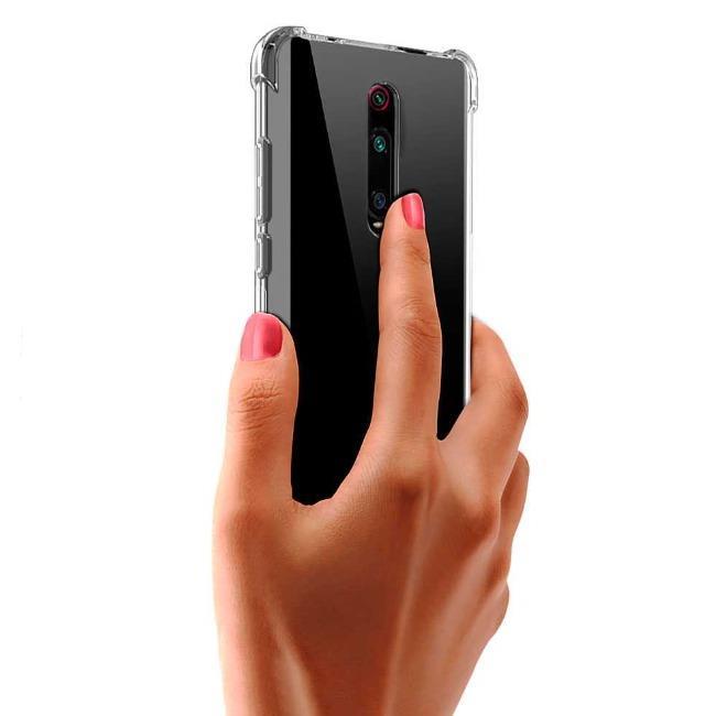 قاب ژله ای شفاف ضدضربه شیائومی Shockproof Case for Xiaomi Redmi K20