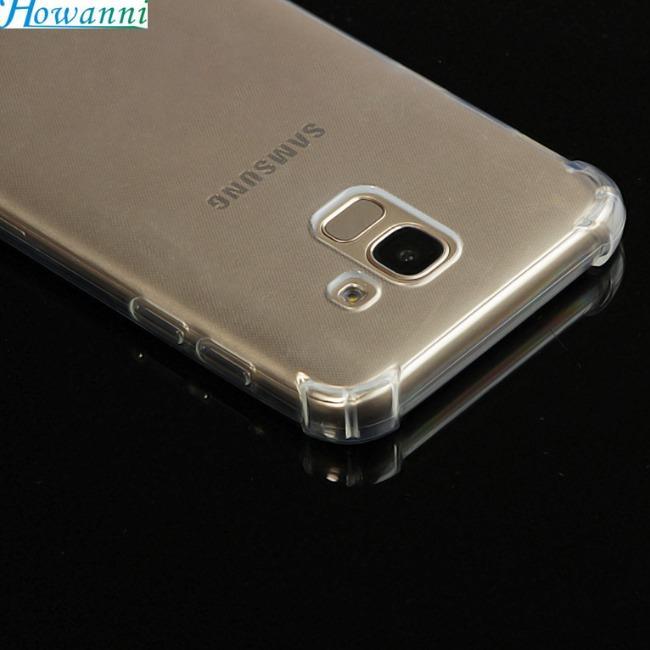قاب ژله ای شفاف ضدضربه سامسونگ Shockproof Case for Samsung Galaxy J6