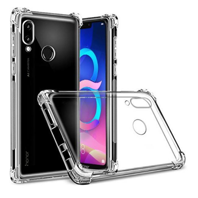 قاب ژله ای شفاف ضدضربه هواوی Shockproof Case for Huawei Honor 8C