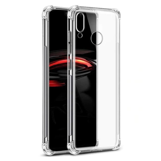 قاب ژله ای شفاف ضدضربه هواوی Shockproof Case for Huawei P Smart 2019
