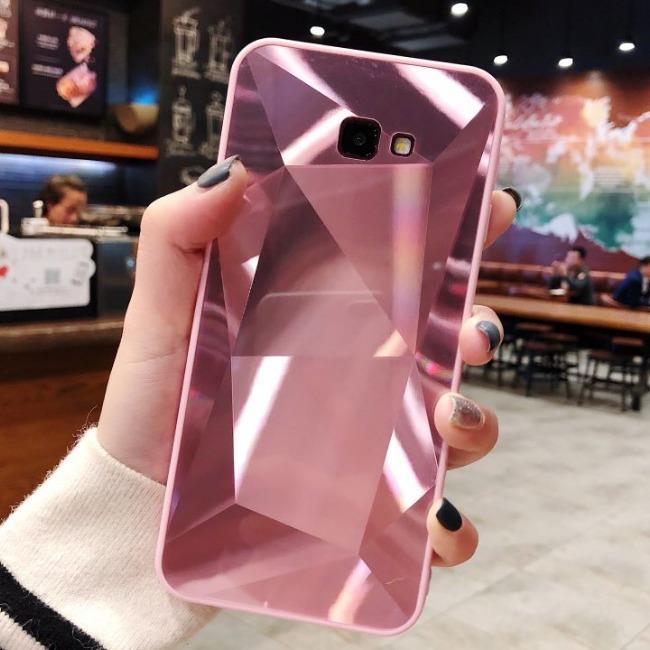 قاب الماسی پشت گلس سامسونگ Diamond Case Samsung Galaxy J4 Plus