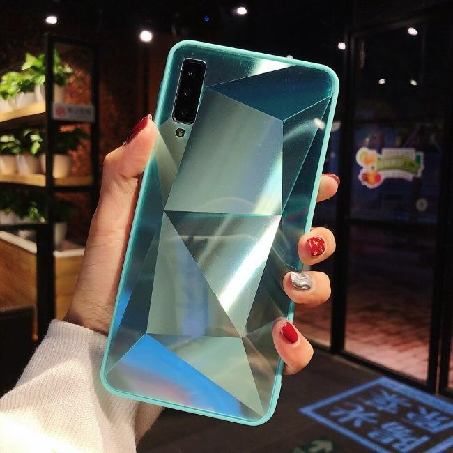 قاب الماسی پشت گلس سامسونگ Diamond Case Samsung Galaxy A20