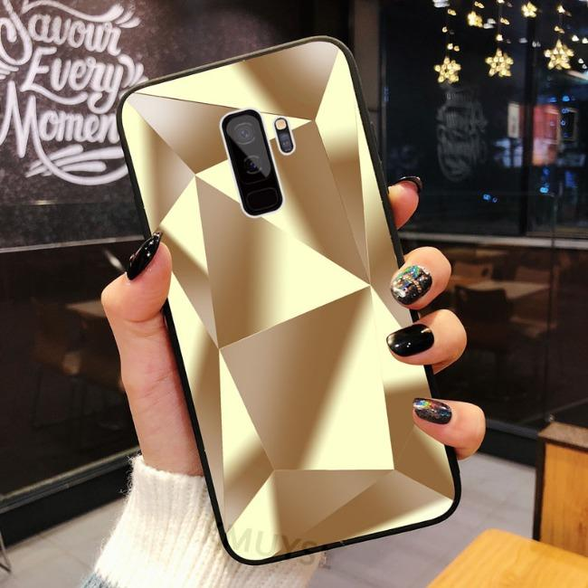 قاب الماسی پشت گلس سامسونگ Diamond Case Samsung Galaxy J6