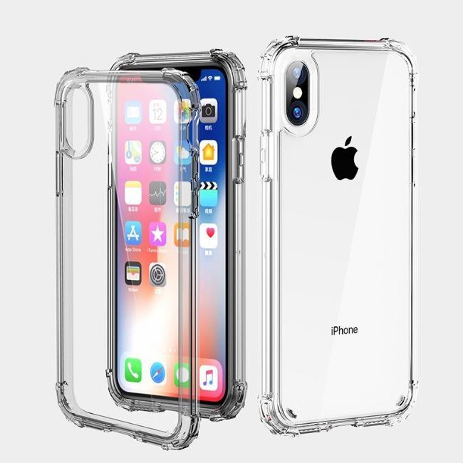 قاب ژله ای شفاف ضدضربه آیفون Shockproof Case for iPhone Xr