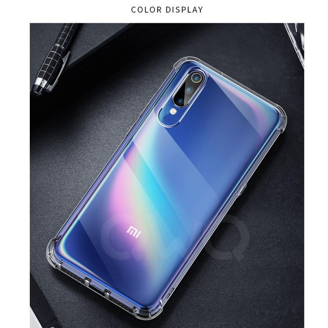 قاب ژله ای شفاف ضدضربه شیائومی Shockproof Case for Xiaomi Mi CC9(A3 Lite)