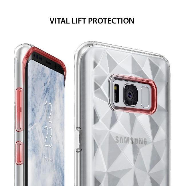 قاب ژله ای برجسته الماسی Diamond Case Samsung Galaxy S8 Plus