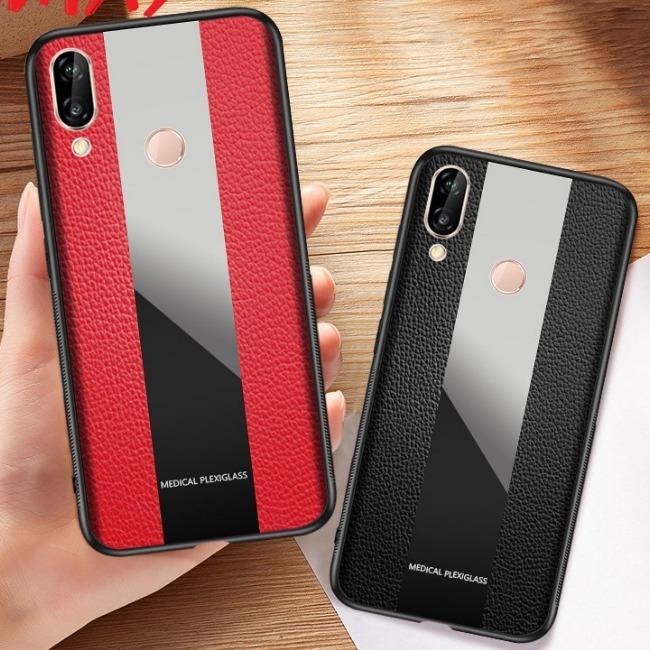 قاب چرمی آینه ای سامسونگ Leather Mirror Samsung Galaxy M20