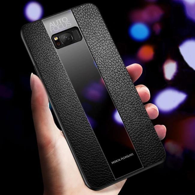 قاب چرمی آینه ای سامسونگ Leather Mirror Samsung Galaxy S8 Plus