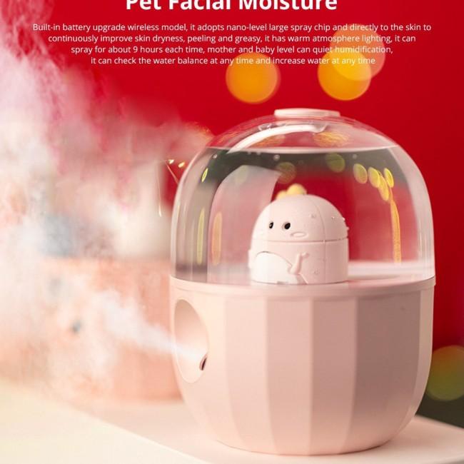 دستگاه بخور سرد طرح گربه خانگی Pet  facial moisture