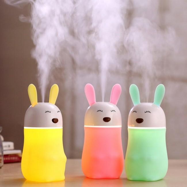 دستگاه بخور سرد طرح خرگوش شاد