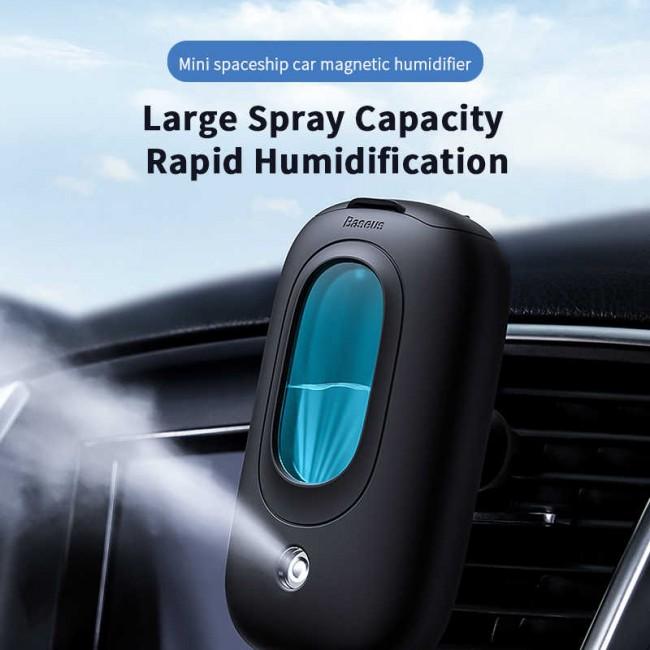 دستگاه بخور اتومبیل بیسوس مدل Baseus Mini spaceship car magnetichumidifier