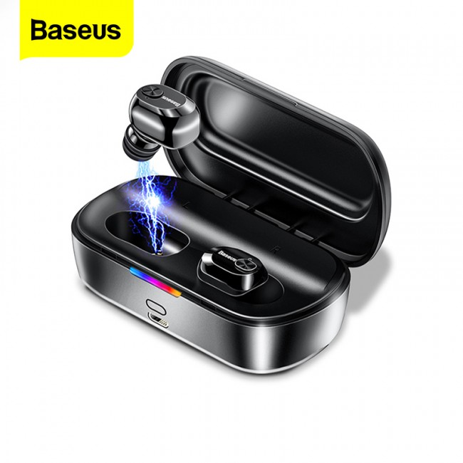 هندزفری بلوتوث دو گوش بیسوس مدل Baseus encok true wireless earphones w01 ngw01-01
