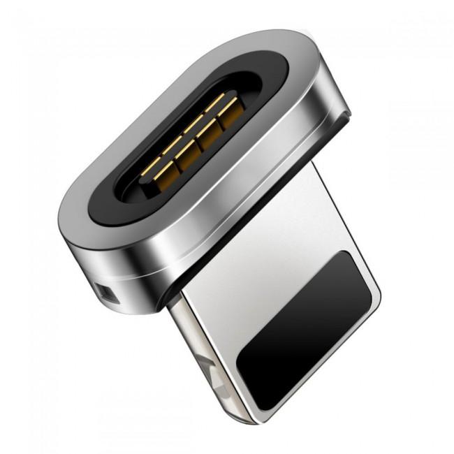 سر کابل مگنتی لایتنینگ برند بیسوس مدل Baseus Calxc-e iP Magnetic adapter