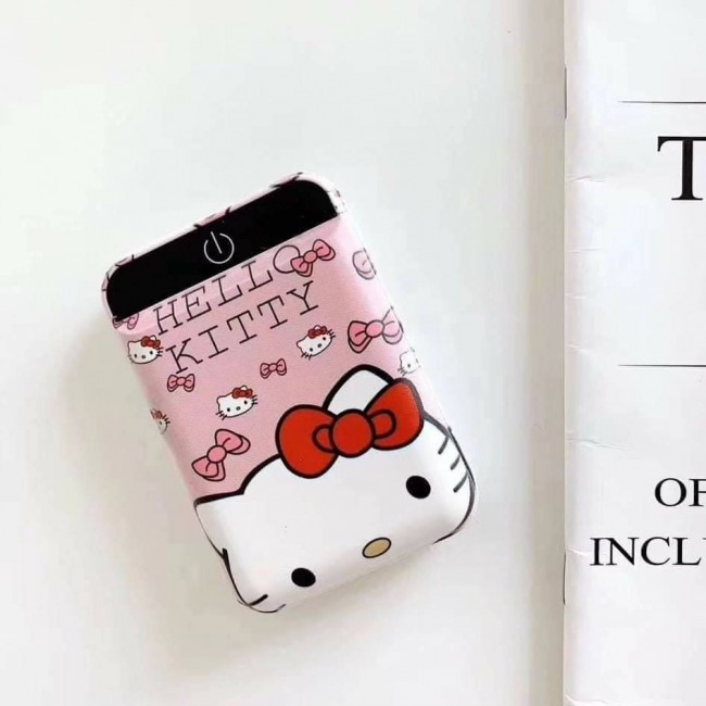 مینی پاور بانک فانتزی طرح هلو کیتی cute hello kitty design mini portable power bank