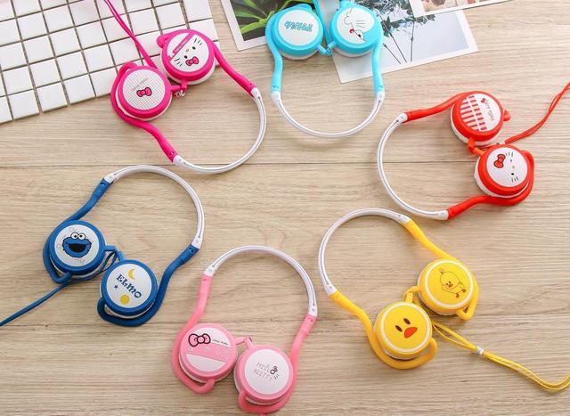 هدفون فانتزی طرح کارتونی Cute cartoon headphones GJ-26