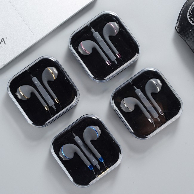 هندزفری طرح آیفون کیکا مدل Keeka EB-112 earphone
