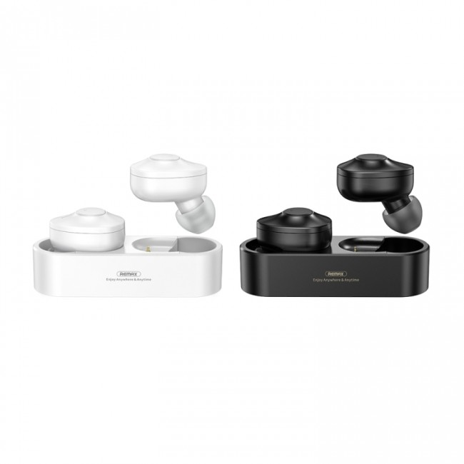 هندزفری بلوتوث دو گوش ریمکس Remax true wireless stereo music earbuds TWS-21