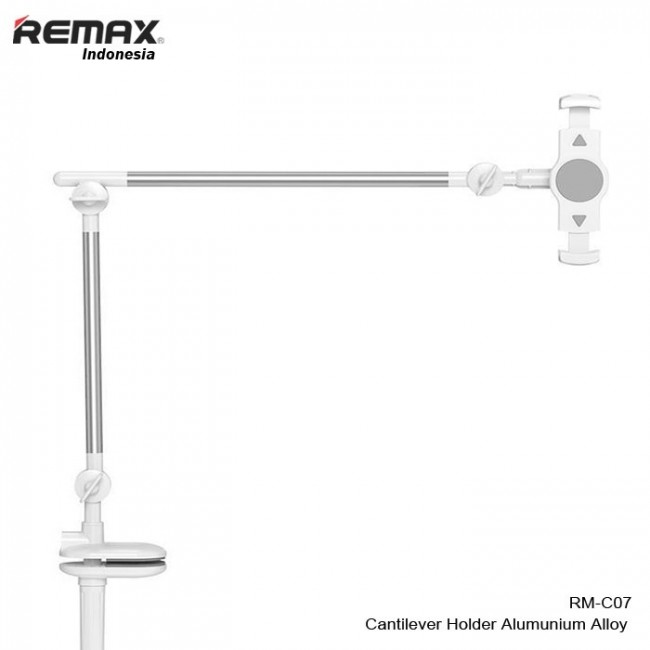 هولدر موبایل و تبلت رومیزی ریمکس Remax Aluminum alloy, silicone, cantilever holder RM-C07