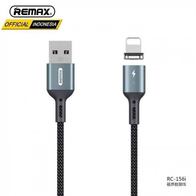 کابل شارژ مغناطیسی لایتنینگ ریمکس Remax Cigan series 3.0A powerful magnet connection lightning data cable RC-156