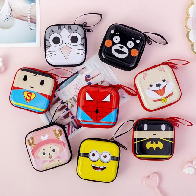کیف هندزفری طرح کارتونی Cute cartoon animals handsfree bag
