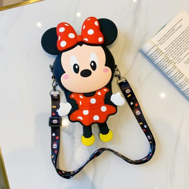 کیف دوشی فانتزی طرح مینی موس Mini mouse coin purse