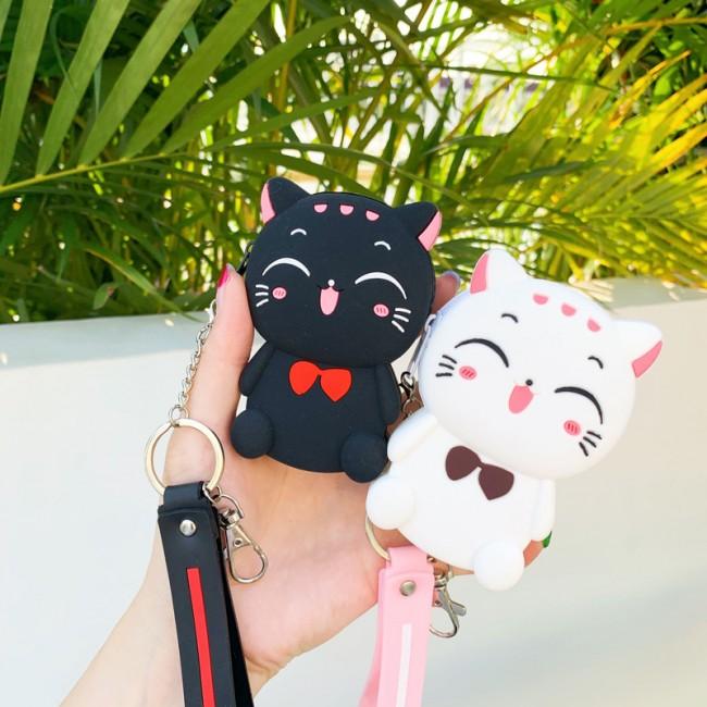 کیف فانتزی طرح گربه Cute cat coin purse