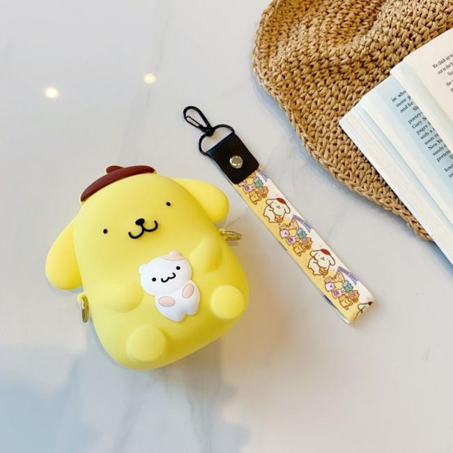 کیف دوشی فانتزی طرح پوم پوم PumPum purin coin purse