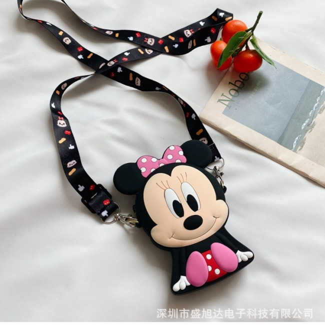 کیف دوشی فانتزی طرح میکی موس Micky mouse and mini mouse design coin purse
