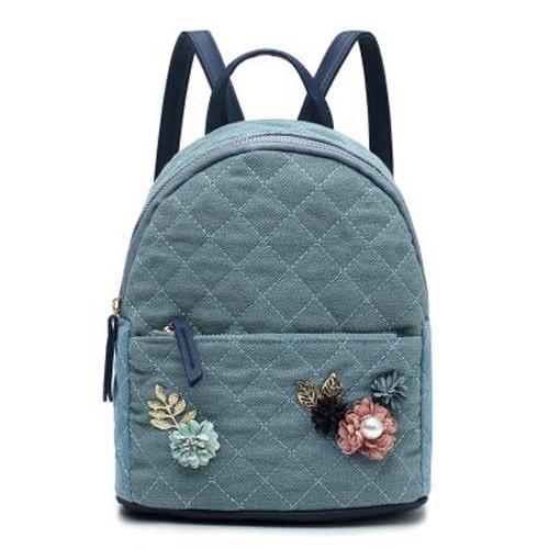 کوله پشتی گلدار Floral women's backpack