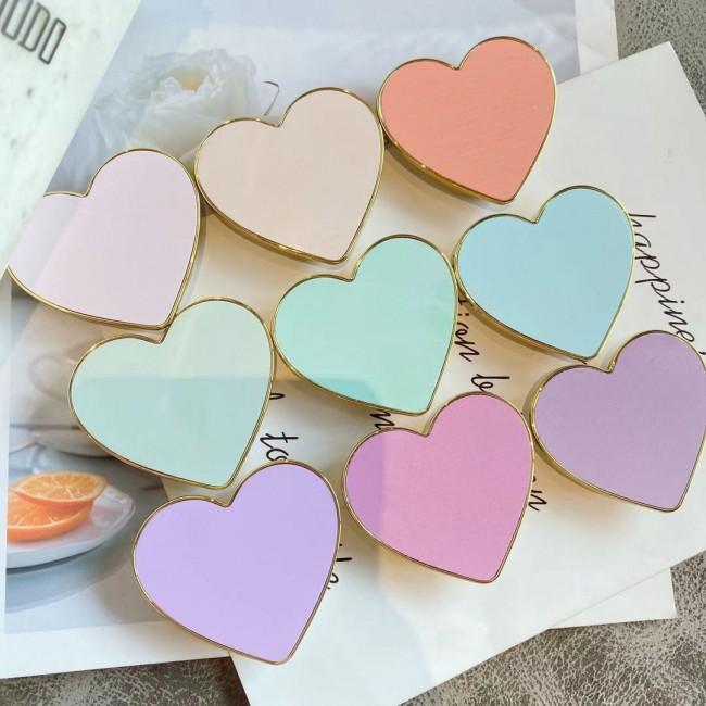 پاپ سوکت قلبی پاستلی Pastel colors heart shape pop sockets