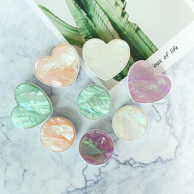 پاپ سوکت قلبی ماربل Lovely marble heart Pop socket